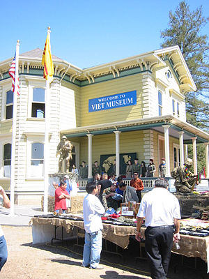 Viet Museum - Exterior of the Viet Museum (photo taken on the museum's opening day, August 25, 2007)