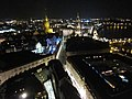 View from Frauenkirche Dresden by night 01.JPG