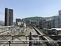 View from overpass of Yano Station (east).jpg
