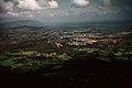 View from the Nu'uanu Pali lookout, late 1959, Kaneohe, Oahu, Hawaii.jpg