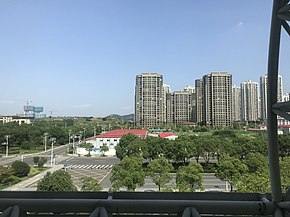 View from train at Zhenjiang South Station 2.jpg
