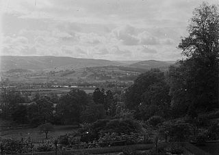 View of Builth Wells from Welfield