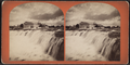 View of Niagara Falls and Cataract House, from Robert N. Dennis collection of stereoscopic views.png