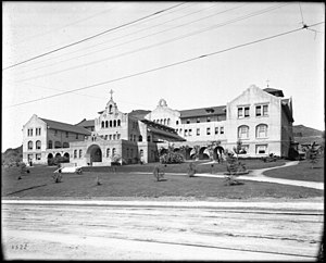 Immaculate Heart High School (Los Angeles) - Immaculate Heart Convent and College – later High School c.1907