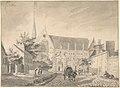 View of the Church of Passy, near Paris MET DP800779.jpg