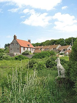 View towards Cley Old Hall - geograph.org.uk - 842799