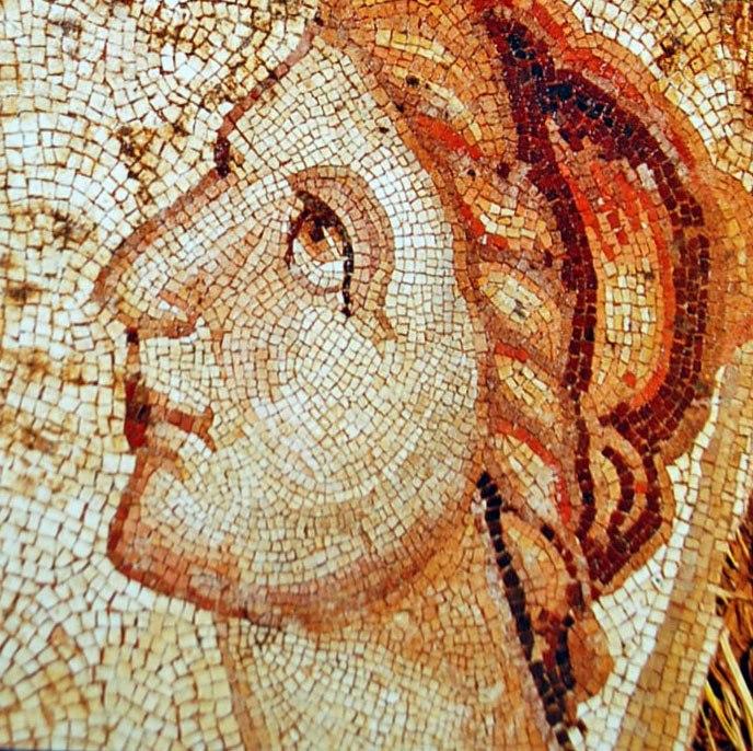 Villa Romana de La Olmeda Mosaicos romanos 002