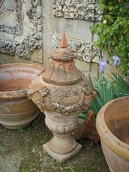 Villa la pietra, pomario, terracotta