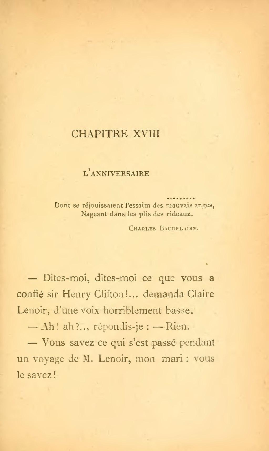 Claire Lenoir - Villiers de lIsle-Adam
