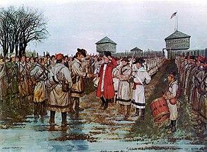 Henry Hamilton (governor) - Hamilton Surrenders to Clark