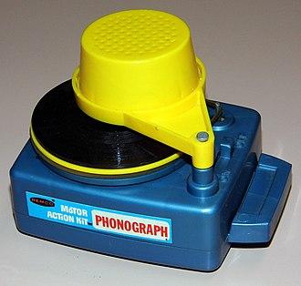 Remco - Motor Action Kit Phonograph.