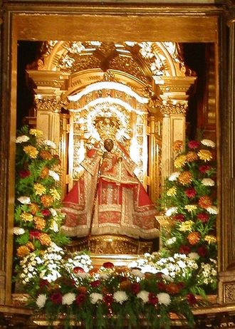 Our Lady of Guadalupe in Extremadura - Image: Virgenguadalupe