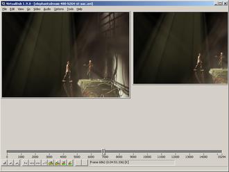 VirtualDub - Image: Virtualdub 1.9.0