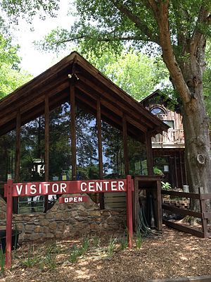 Autrey Mill Nature Preserve & Heritage Center - Image: Visitor Center at Autrey Mill