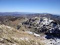 Vista del circo de Gredos, Laguna Grande con hielo.jpg