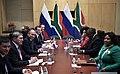 Vladimir Putin and Cyril Ramaphosa, 26 july 2018 (1).jpg