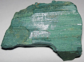 Chastinsky District - Volkonskoite-replaced fossil wood, Mt. Efimiatsk, Chastinsky District