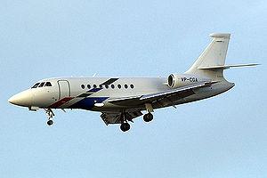 Dassault Falcon 2000 - A Falcon 2000 of Volkswagen Air Service