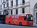 Volvo 9700 JAZ 8315, Mil-Ken Travel, Littleport. Adidas Olympic sponsor all over livery. (7747508218).jpg