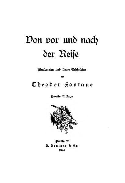 File:Von vor und nach der Reise (Fontane 1894).djvu