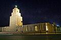 Vue nocturne de la Grande Mosquée de Kairouan (mosquée Okba Ibn Nafaa).jpg