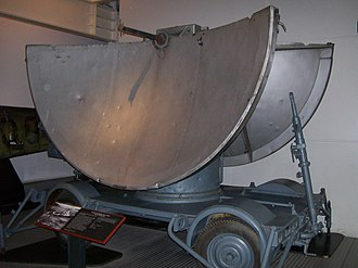 Operation Biting - A Würzburg radar of the type installed at Bruneval, folded for transport