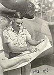 WC Moran and SL Austin of 2 Squadron RAAF Hughes NT Mar 1943 AWM NWA0184.jpg