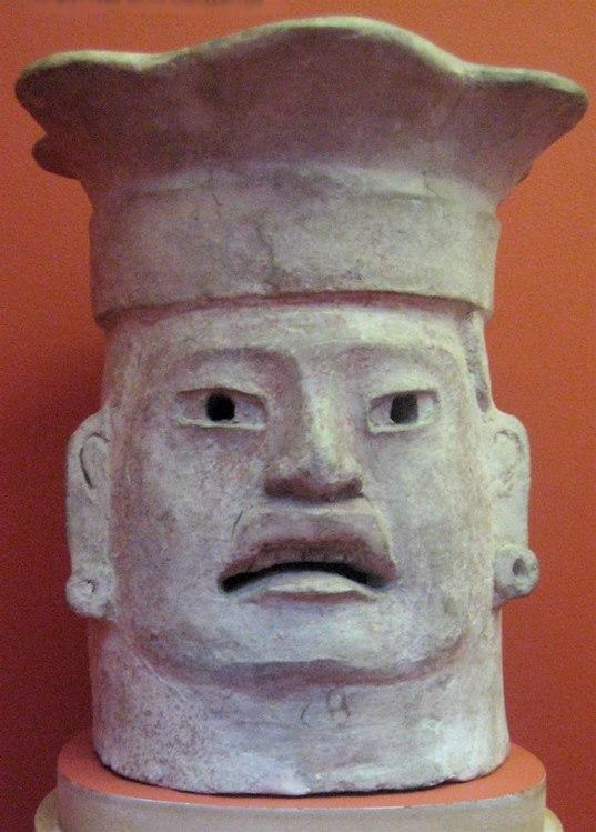 WLA lacma Effigy Head Brazier Zapotec