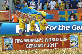 Sweden at the FIFA Womens World Cup