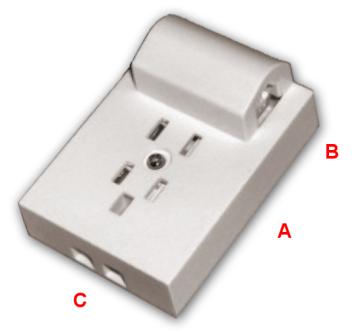 WT-4 %26 RJ11 telephone socket