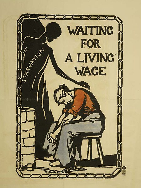 File:Waiting for a Living Wage Poster Catherine Courtauld 1913.jpg