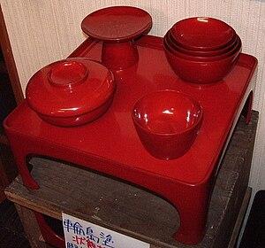Wajima-nuri - Wajima-nuri pieces