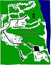 100px walnut ridge disc golf course map