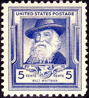 English: Walt_Whitman_1940_Issue-5c.jpg Catego...