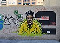 Walter White al carrer d'Antoni Suárez, València.JPG