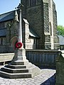 War Memorial, St Ambrose Church, Leyland - geograph.org.uk - 800605.jpg