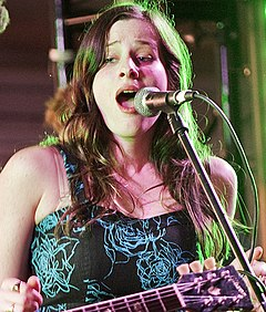 Sasha Spielberg Wardell, Jubilee Music & Arts Festival, Los Angeles Arts District, June 7, 2013 (8992383197) (cropped).jpg