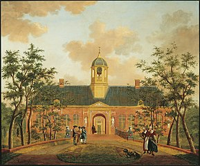 Second gatehouse of Elswout park in Overveen