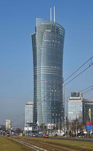 Warsaw Spire - Warsaw Spire complex February 2016