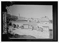 Wash drawing of Jerusalem Temple area, mosque grounds LOC matpc.08635.jpg
