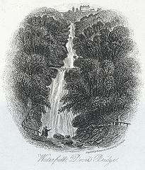 Waterfall, Devil's Bridge