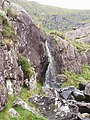 Waterfall near Loch an Pheidlar (Pedlar's lake) - geograph.org.uk - 219666.jpg