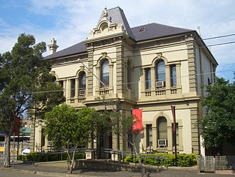 Waterloo, New South Wales - Waterloo Town Hall designed by John Smedley