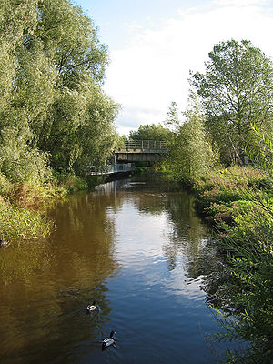 River Weaver - River Weaver at Nantwich