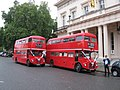 Wedding-special Routemaster buses - geograph.org.uk - 2096349.jpg