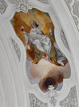 Weingarten Fresken Chorquertonne Nord Intellectus
