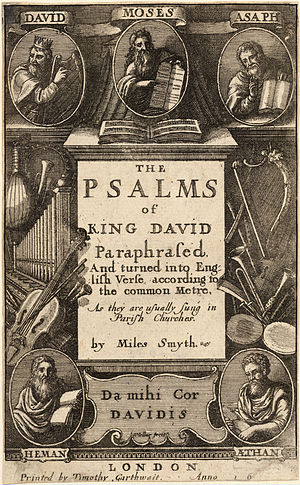 Wenceslas Hollar - The Psalms