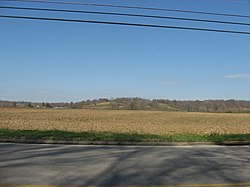 Countryside along U.S. Route 50