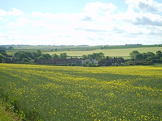 West Lutton - Image: West Lutton from Malton Lane June 2009 (Nigel Coates)