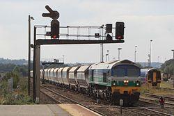 Westbury - Mendip Rail 59005 (FGW 158952).JPG